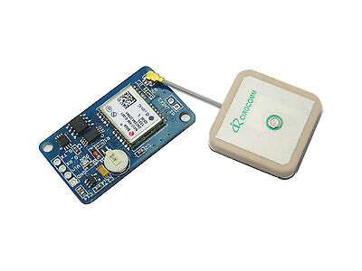 Ublox NEO-6M GPS module(compatible with 3.3V-5V interface,with EEPROM,Flash)