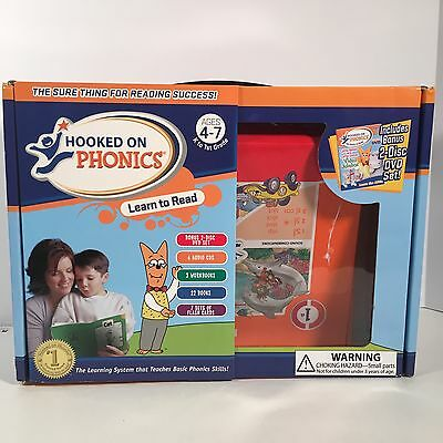 Hooked On Phonics Learn To Read 1st Grade Edition ages 4-7  Not Complete