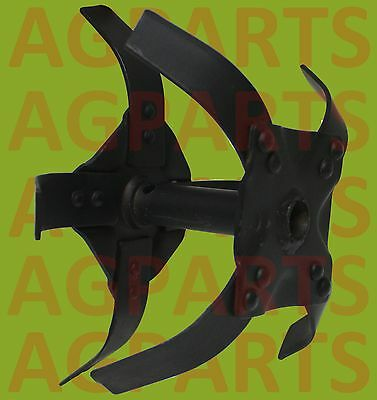 Replacement Rotor Assembly Set Left/right For Rototiller / Garden Tiller  Cp360