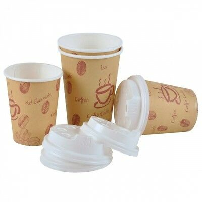 200 Coffee Cafe to Go BECHER + DECKEL 0,2l Kaffeebecher Coffeebecher