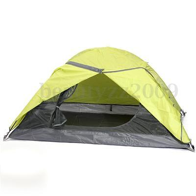 2 Person Family Camping Tent Double Layer Waterproof Windproof Hiking Outdoor