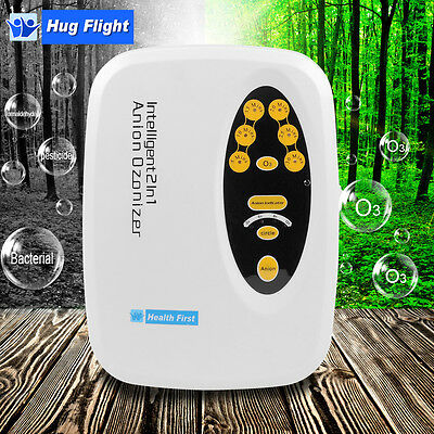 2in1 Air Purifier Cycle Anion Ozonizer Ozonator Ionizer Disinfector Ozone