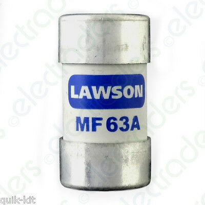 Lawson MF63A Cut Out Fuse - 63 Amp BS88