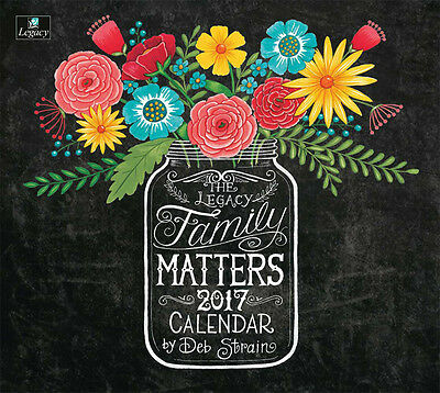 2017 Lang / LEGACY Calendar FAMILY MATTERS New Wall Calender Fits Wall Frame ...