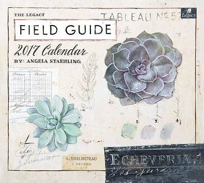 2017 Lang / LEGACY Calendar FIELD GUIDE New Wall Calender Fits Wall Frame FRE...