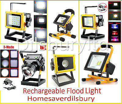 Brand New Rechargeable Portable Lamp Floodlight Work Light Colorful for Out Door