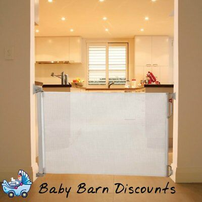 Dreambaby Retractable Safety Gate - F820 (White)