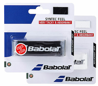 Babolat Syntec Feel - Replacement Grip - Tennis Squash Badminton - Pack of 1