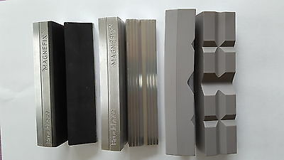 Brockhaus Vice Parallel SOFT JAWS 120 magnetfix 3 Pairs