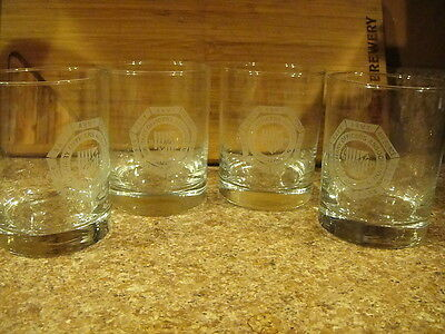 Military Officers Association of America Rocks High Ball Glass Set of 4