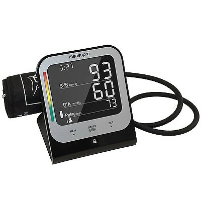 Touch Digital Upper Arm Blood Pressure Monitor with Heart Rate Detector