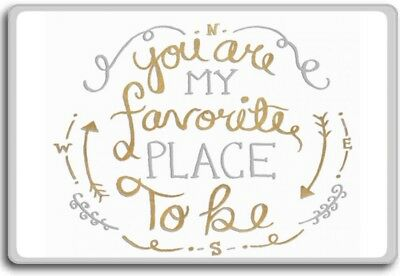 You Are My Shining Star Motivational Quotes Fridge Magnet 495