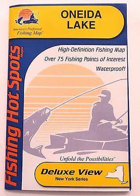 Oneida Lake Hot Spots Fishing Maps S490