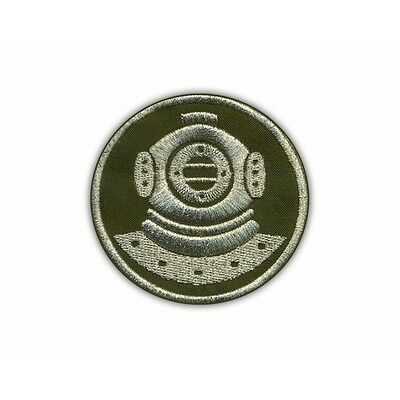 Diver (olive-silver) PATCH/BADGE