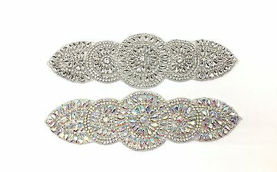 Beautiful Trimming Motif Sewing on Iron on Bridal Dress belt Clothes Appliques