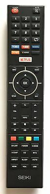 US New SEIKI & ELEMENT OEM Smart TV REMOTE 845-058-02B01 for Seiki SE32HY19T
