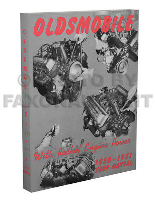1950 1951 OLDSMOBILE Repair Shop Manual Olds 76 88 98 includes Wiring Oldsmobile Owners Manuals Repair Wiring Diagrams on