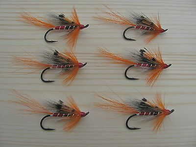 Ally's Shrimp Atlantic Salmon Flies - 6 Fly MULTI-PACK - Sizes 4, 6 and 8