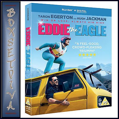 EDDIE THE EAGLE -  Taron Egerton & Hugh Jackman  *BRAND NEW BLURAY**