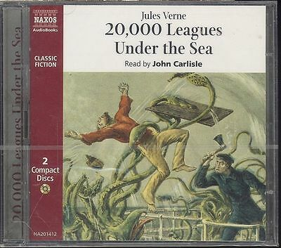 Jules Verne 20,000 Leagues Under The Sea audio book NEW
