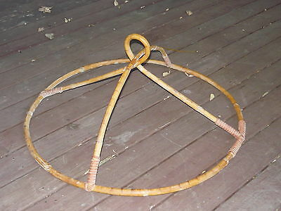 1930s 40s Mosquito Net Holder / Cane Hanger ~ Vintage NQ Lawyer Vine