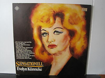 EVELYN KUNNEKE Sensationell TELEFUNKEN RECORDS VINYL LP Free UK Post