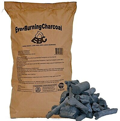 Real Hardwood Lumpwood Restaurant Charcoal 15kg for BBQ and Restaurant Grade