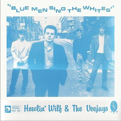"Howlin' Wilf / James Hunter - Blue Men Sing The Whites WATERFRONT 12"" EP 1987"