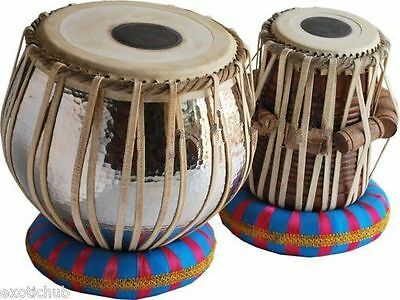 Concert Quality Copper Tabla:Drums-5 Kg Bayan-Sheesham Wood Dayan By Dorpmarkets