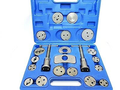 Quality 21pc Brake Calliper Piston Wind Back Tool Kit Garages New TZ AU064