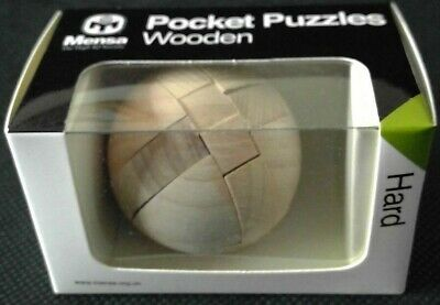 HARDER MENSA WOODEN PUZZLE BRAND NEW /& SEALED