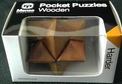 HARD MENSA WOODEN PUZZLE BRAND NEW /& SEALED