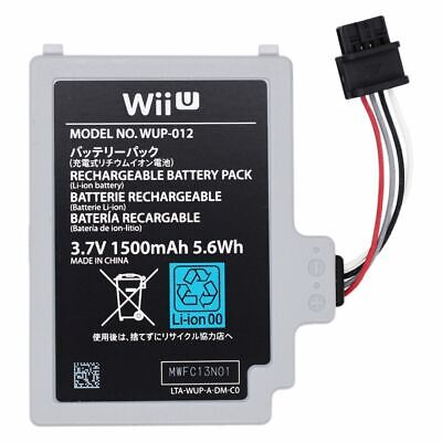 For Nintendo Wii U Remote Controller Replacement Battery Pack Gamepad WUP012 OEM