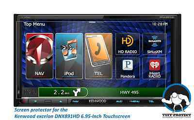 Tuff Protect Clear Screen Protectors for Kenwood excelon DNX891HD Screen
