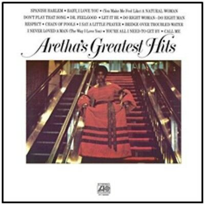 Aretha Franklin - Aretha's Greatest Hits - New 140g Vinyl LP - Pre Order - 2/9