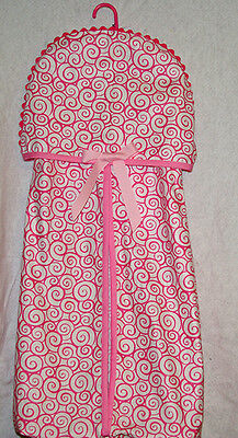 Pretty Pink Diaper Stacker, Custom Personalize With Baby's Name, AGIFT 208