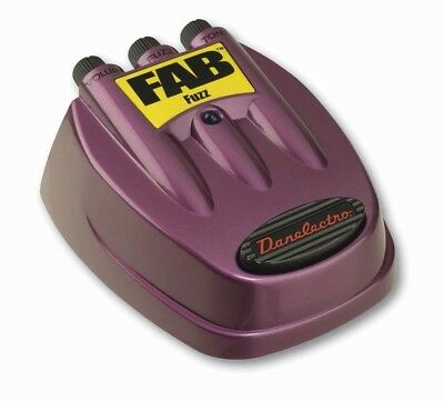 Danelectro D-7 Fab Fuzz Electric Guitar Effects Pedal