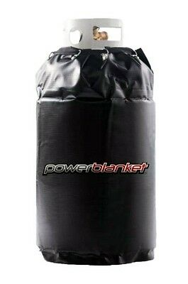 "Powerblanket 17 Gallon Spray Foam Cylinder Electric Heater Warmer 15""x27"" 90 Deg"