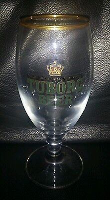 Rare Collectable Tuborg Beer Glass Brand New Never Used