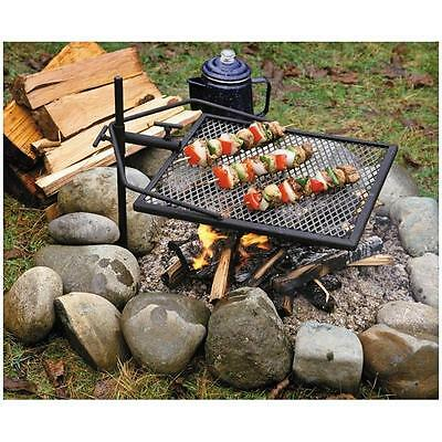 Adjust-A-Grill - Complete Temperature Control/Solid Heavy Gauge Steel