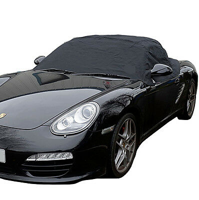 PORSCHE Boxster 987 SOFT TOP ROOF PROTECTOR HALF COVER - 2005 to 2012 (114)