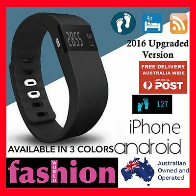 Sports Fitness Tracker Fit Smart Wristband Watch Android iPhone TW64 bit titbit