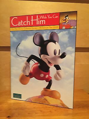 2000 disney COLLECTORS society MICKEY MOUSE membership folder DISNEYANA wdcc