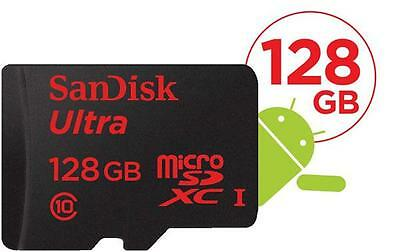 SanDisk 128GB Ultra Micro SD SDXC 80MB/s Class 10 UHS Extreme Mobile Memory card