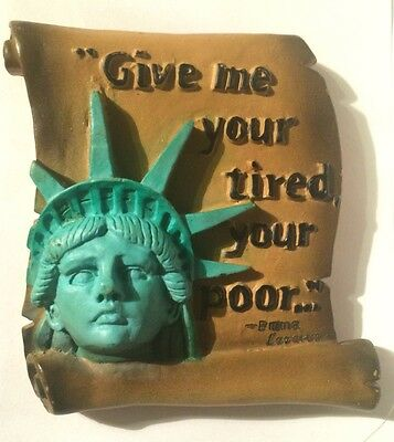 This Is A Very Nice Statue Of Liberty Refrigerator Magnet