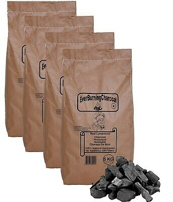 20kg Real Hardwood Lumpwood Charcoal For BBQ Barbecues. Restaurant Charcoal