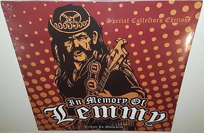 Various Artists In Memory Of Lemmy A Tribute To Motorhead Brand New Vinyl Lp