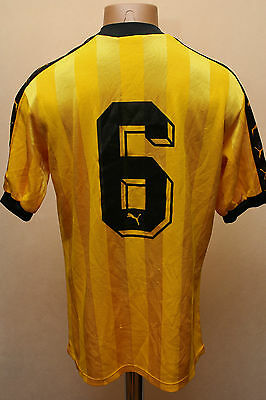 Bsc Young Boys 1986/1987/1988 Home Switzerland Football Shirt Puma Vintage #6