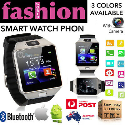 Smart Watch SIM Phone DZ09 Bluetooth Camera For Samsung iPhone Android HTC