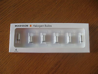 NEW QTY 6 McKesson 123-4505 replacement bulb lamp Welch Allyn 04900-U
